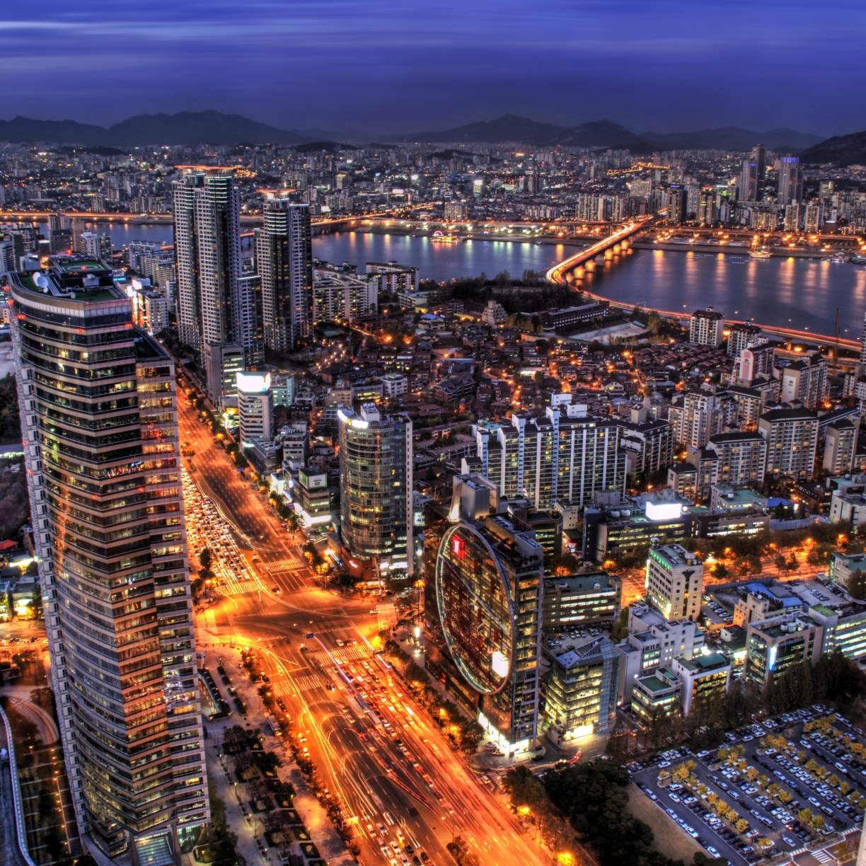South Korea, Seoul, Capital City, HD 4K Wallpaper