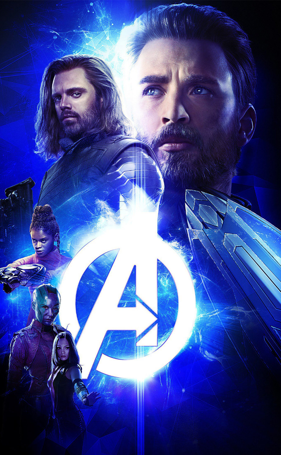 Infinity War Poster Iphone