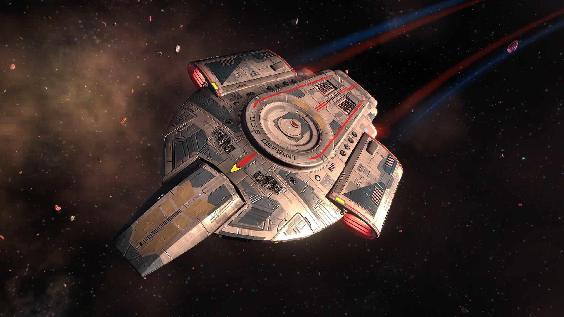 Spaceship Star Trek Online Rise Of Discovery Wallpaper Hd