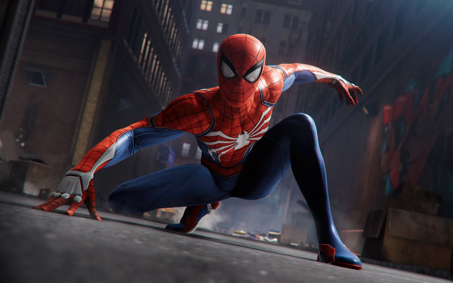 Game Of Spider Man Hd Wallpaper: Spider Man 2018 Game, HD 4K Wallpaper