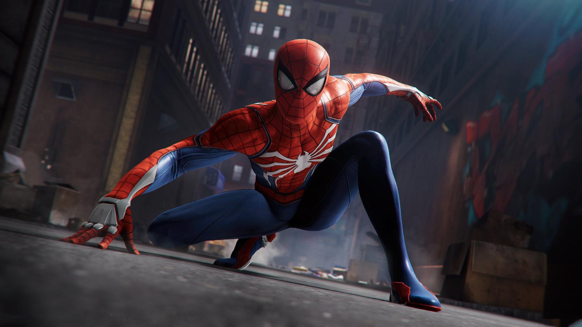 Game Of Spider Man Hd Wallpaper: Spider Man 2018 Game, HD 4K Wallpaper