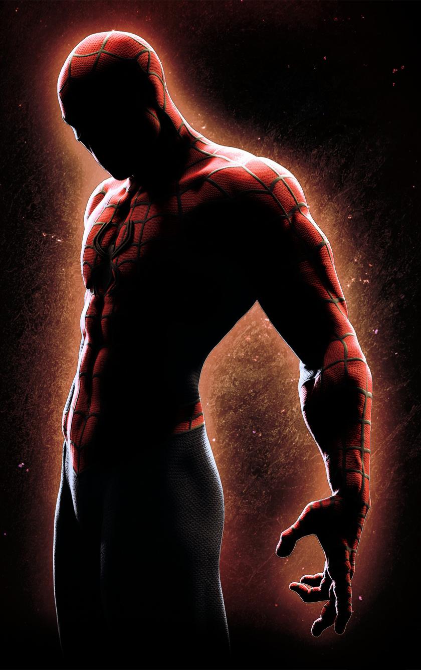 840x1336 Spider Man Cool 4K Black Background 840x1336 ...