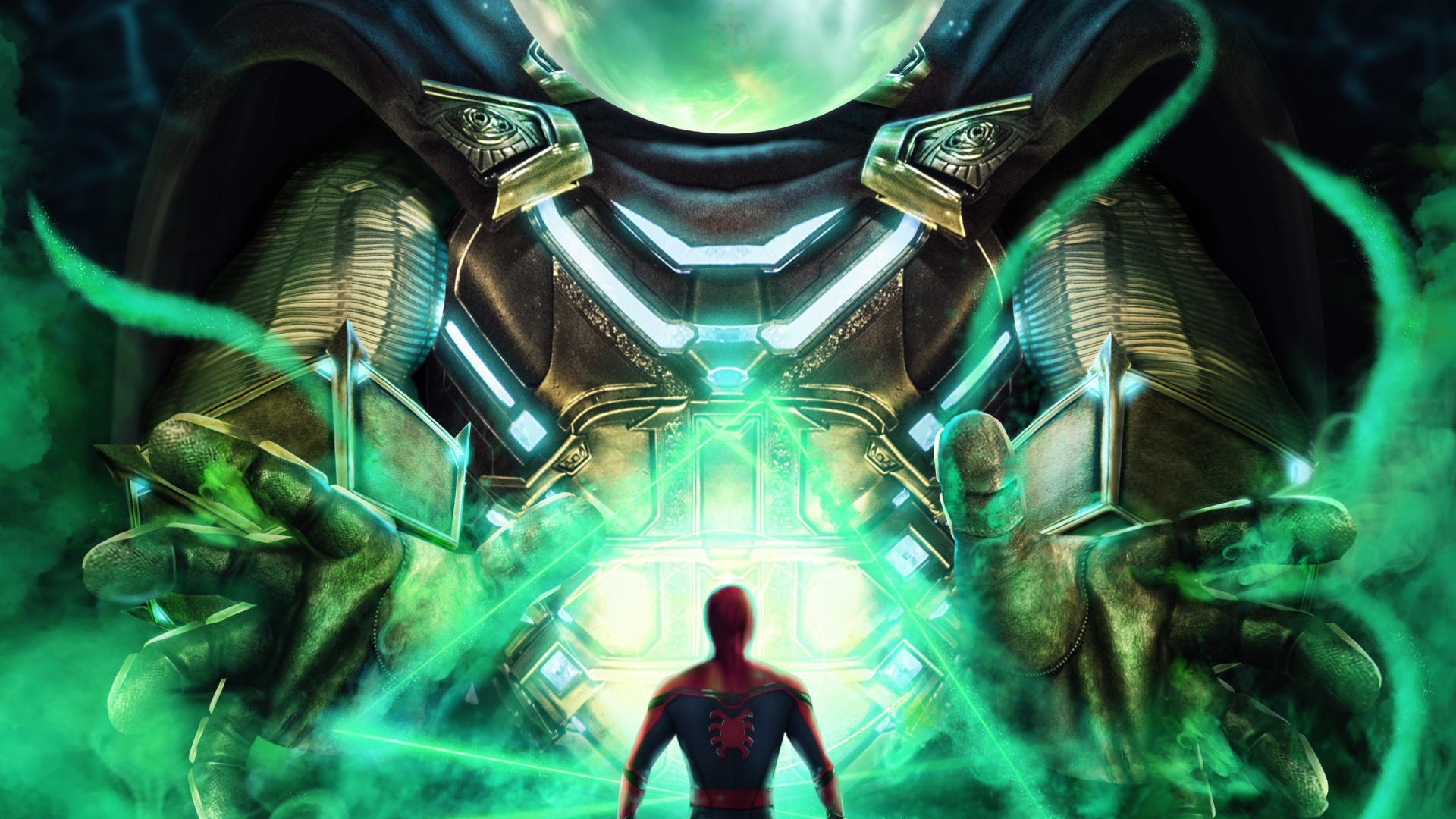 1920x1080 Spider Man Far From Home Artwork 1080P Laptop ...