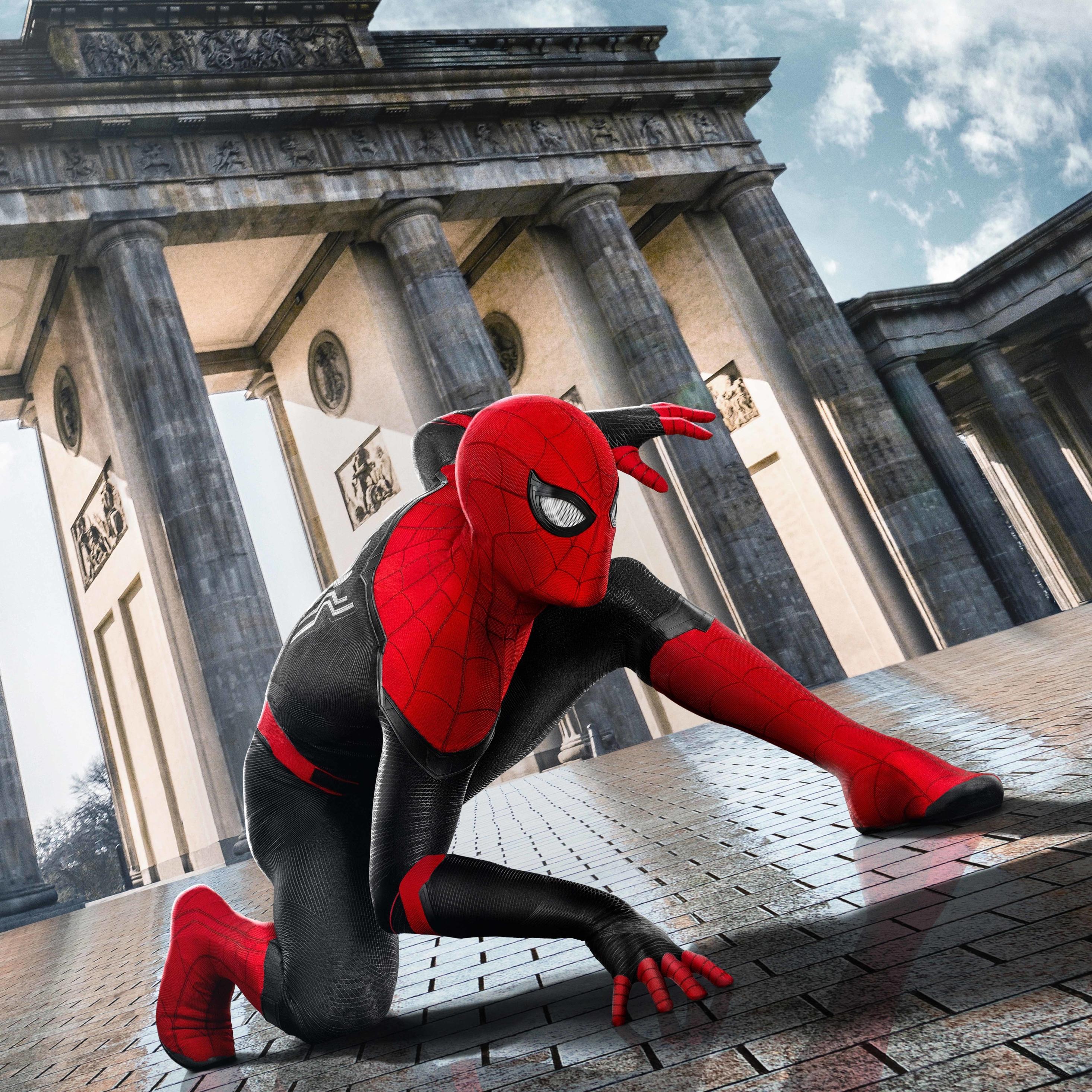 2932x2932 Spider Man Far From Home Ipad Pro Retina Display ...