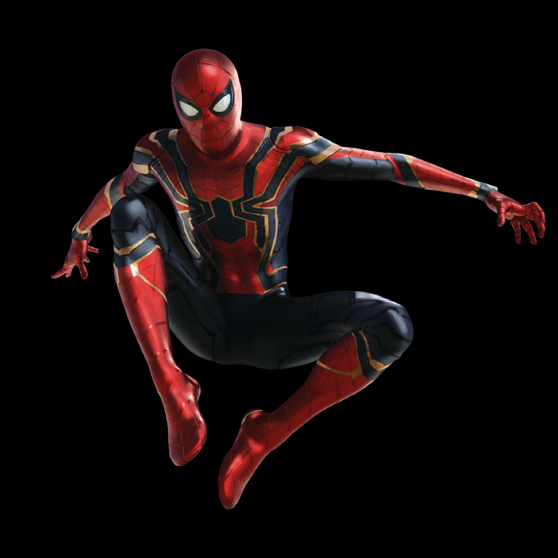 Spider Man In Avengers Infinity War Full HD Wallpaper