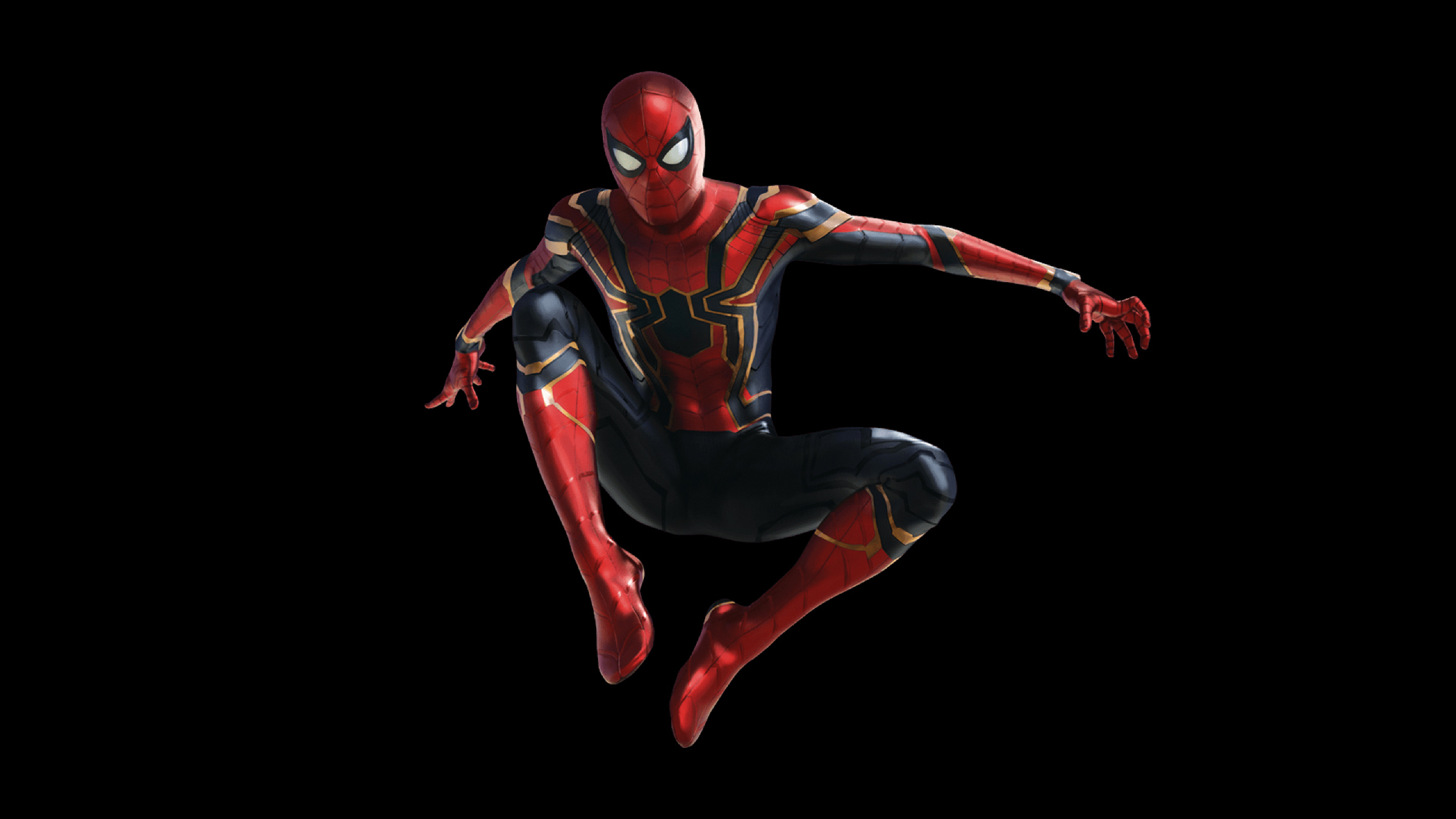 2560x1440 Spider Man In Avengers Infinity War 1440p