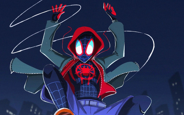 Spider-man Into The Spider-verse 2018 Fanart, Full HD