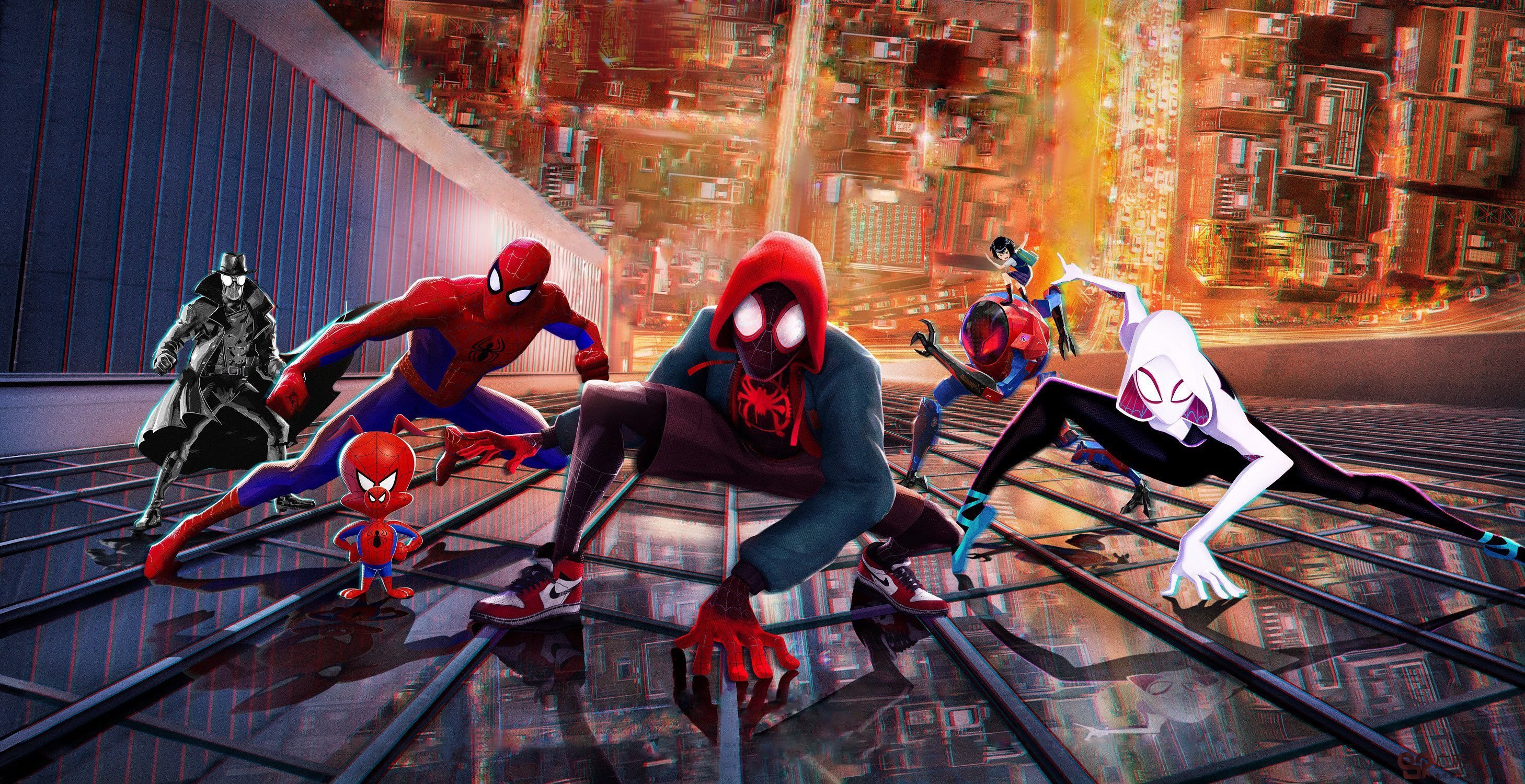Spider Man Into The Spider Verse 2018 Movie Wallpaper Hd Movies
