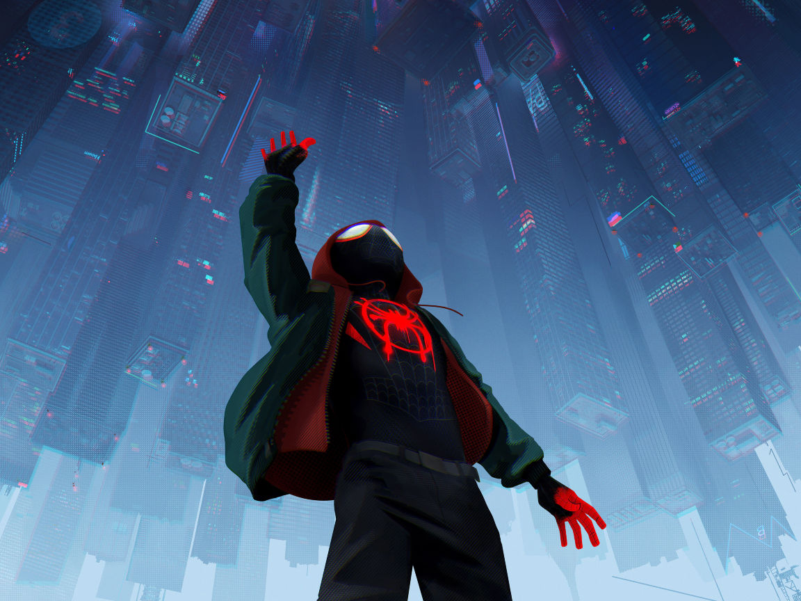 Spider-man Into The Spider-verse 2018 Official Poster, HD ...