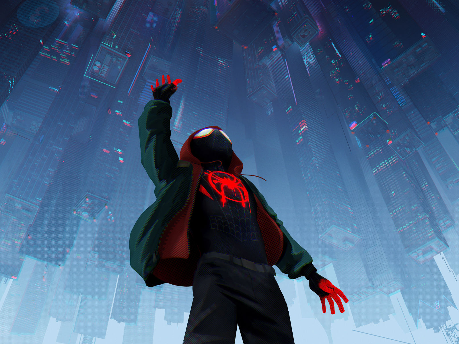 Spider-man Into The Spider-verse 2018 Official Poster, HD