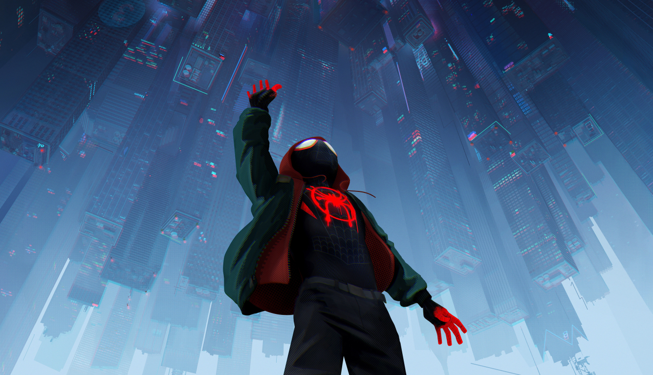 1336x768 Spider-Man Into The Spider-Verse 2018 Official ...