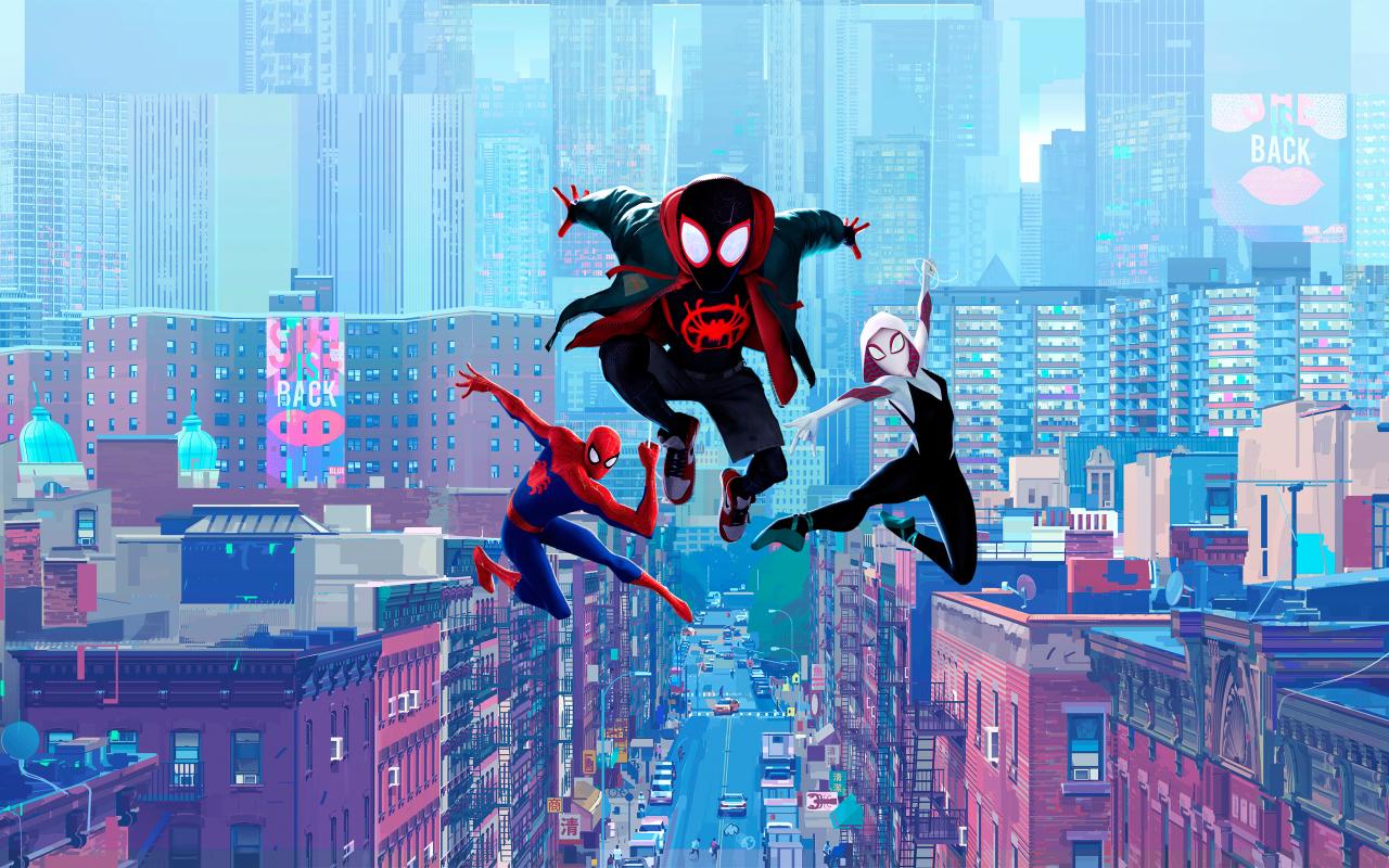 1280x800 Spider-Man Into the Spider-Verse 2019 1280x800 ...