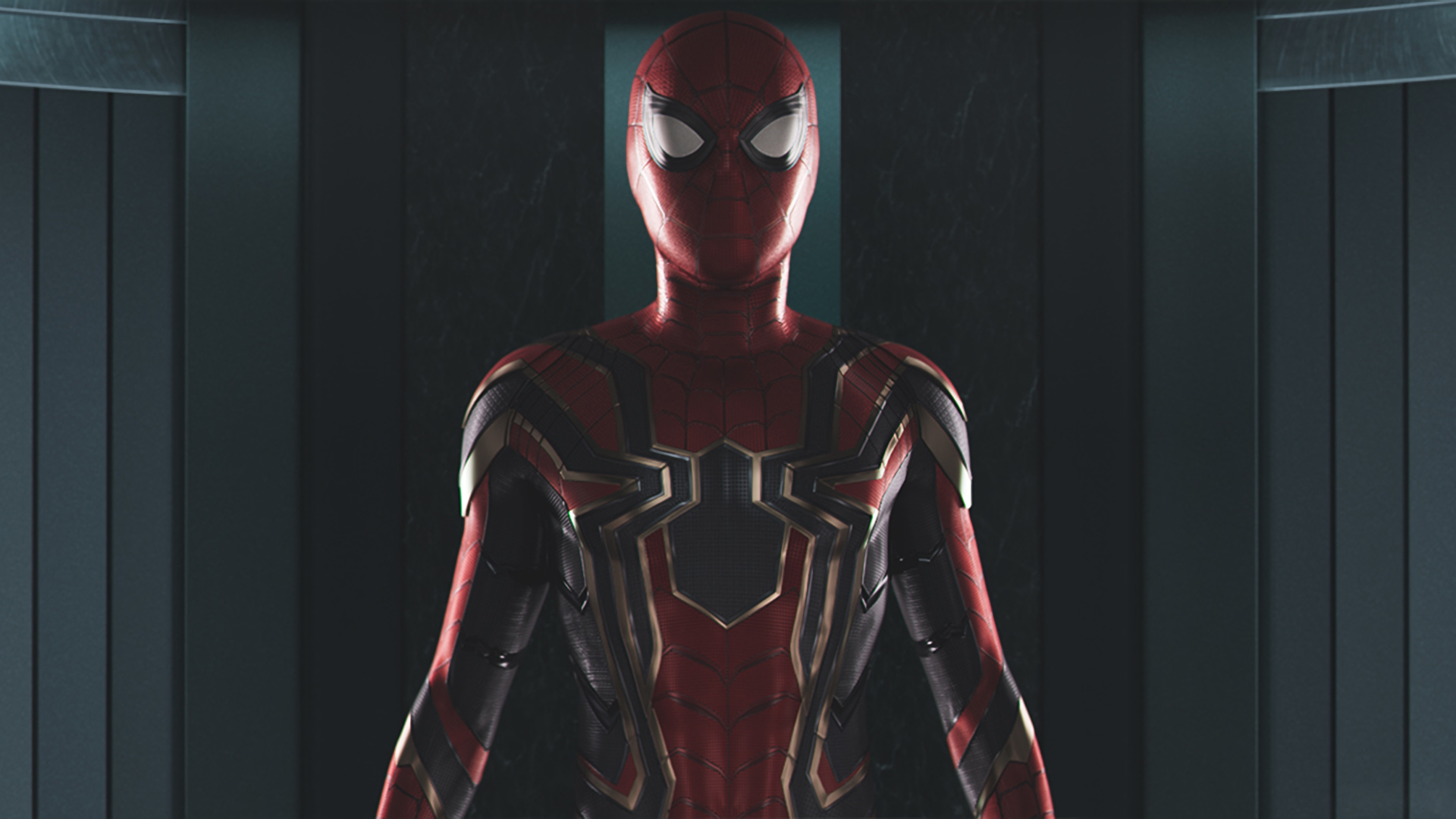 7680x4320 Spider Man New Costume For Homecoming And Avengers 8k