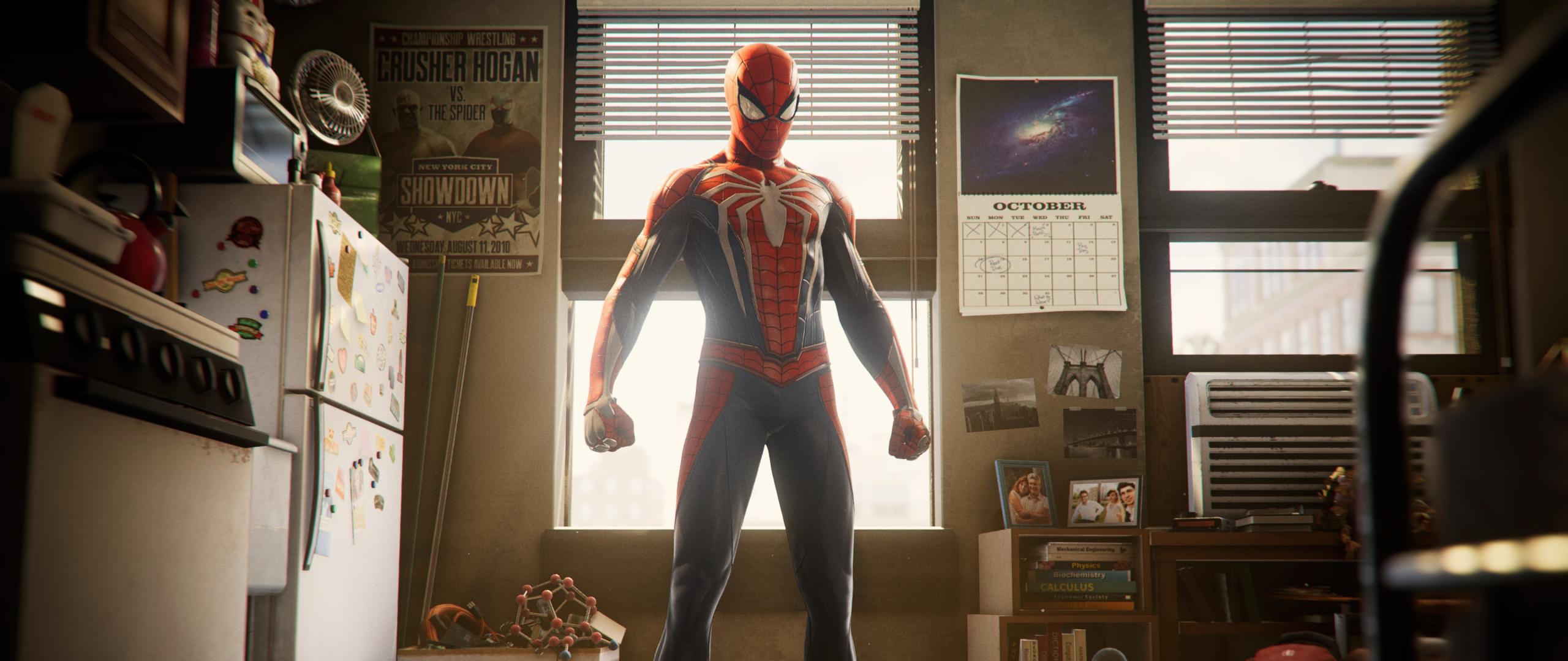 Spider Man Ps4 Game Hd 4k Wallpaper