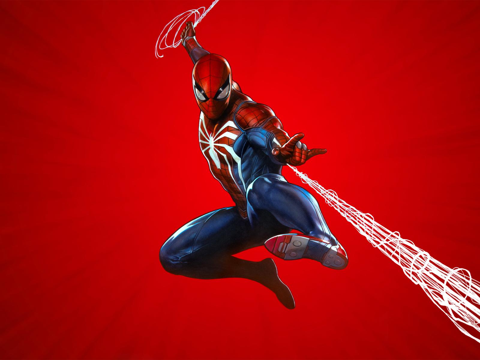 Spider-man Ps4, Full HD Wallpaper