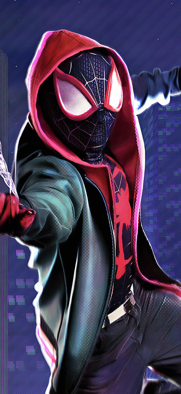 1080x2340 Spider Verse 4K 1080x2340 Resolution Wallpaper ...