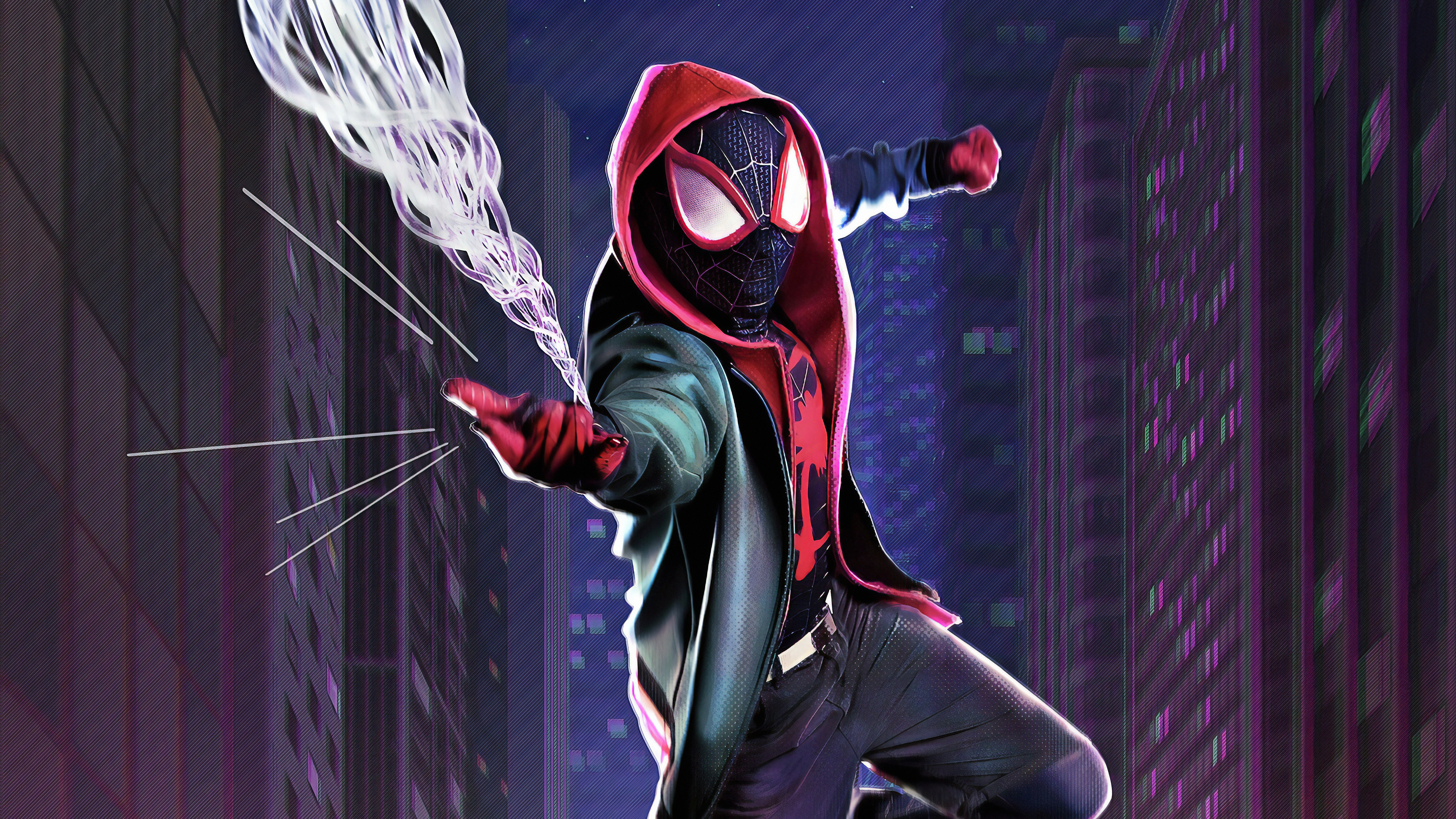 Spider Verse 4K Wallpaper, HD Movies 4K Wallpapers, Images ...