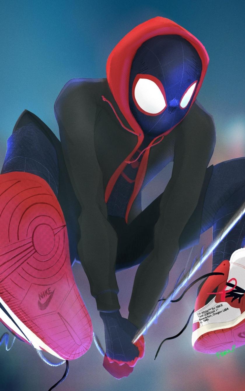 Spider verse hd 4k wallpaper - Spiderman iphone x wallpaper ...