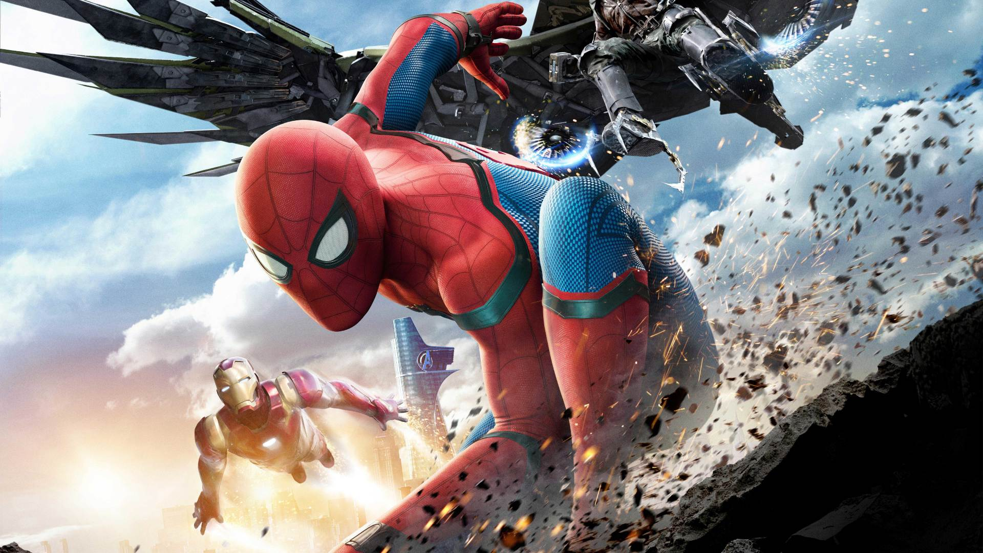 1920x1080 Spiderman Homecoming Climax 1080p Laptop Full Hd