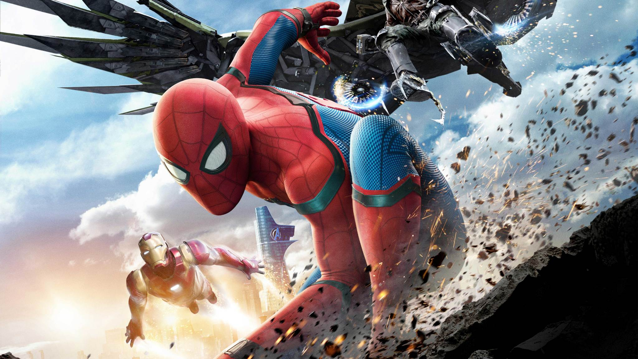 2048x1152 Spiderman Homecoming Climax 2048x1152 Resolution