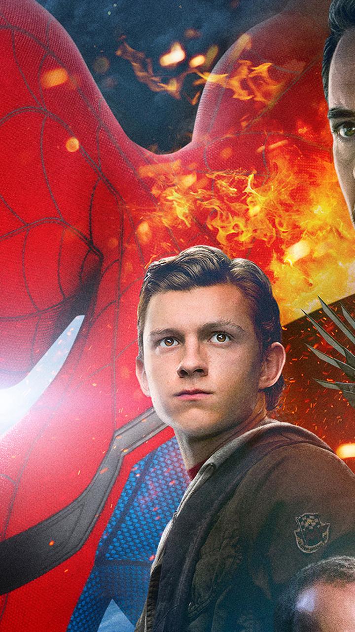 Spiderman homecoming iron man full hd 2k wallpaper - Spiderman and ironman wallpaper ...