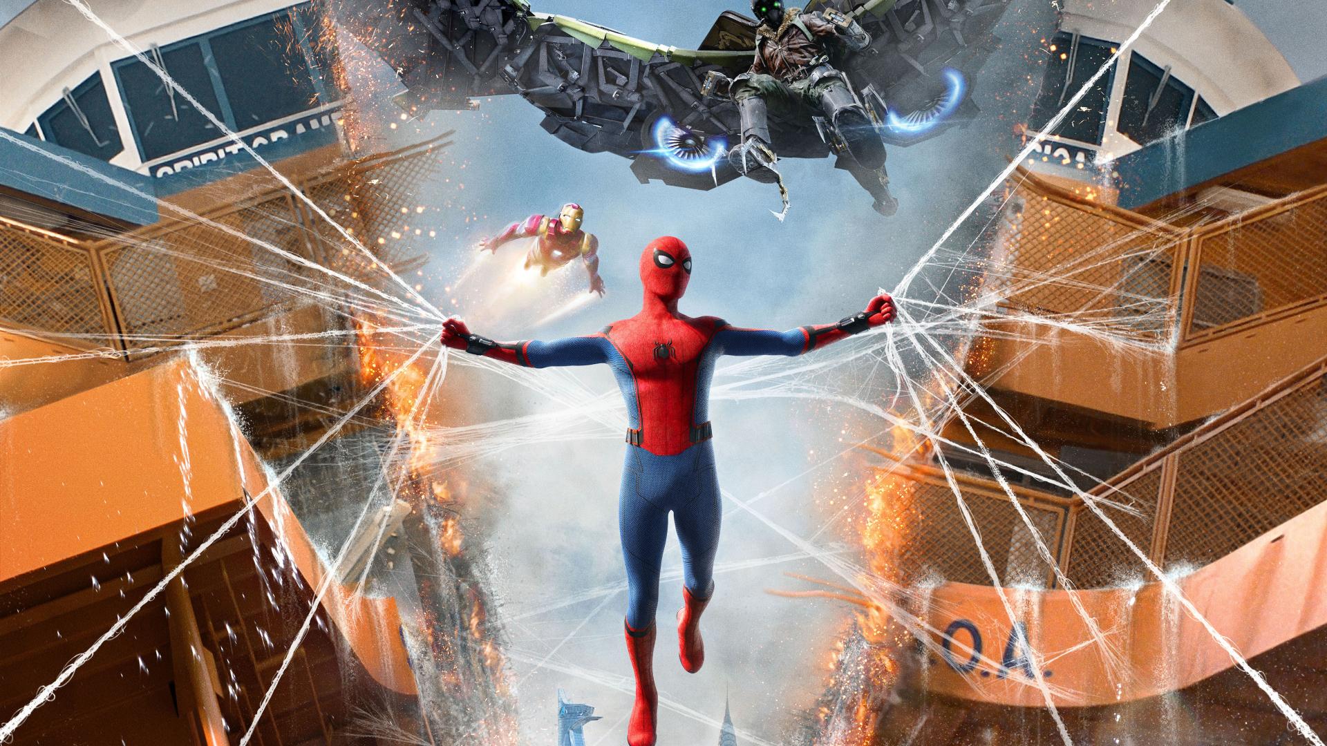 1920x1080 Spiderman Homecoming 1080p Laptop Full Hd