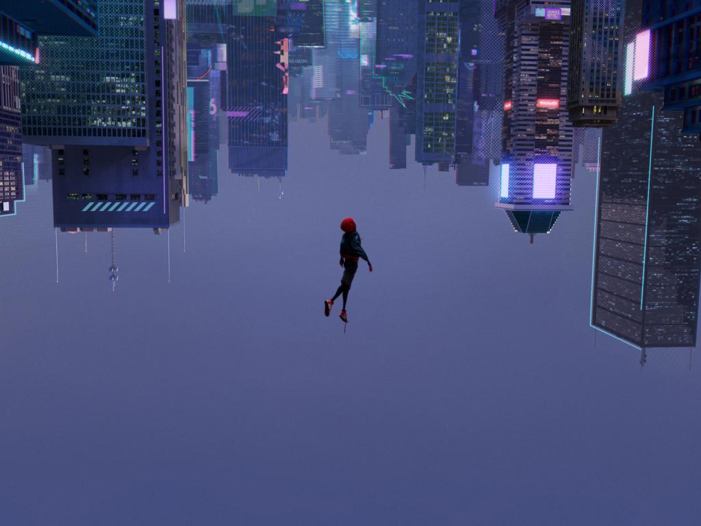 1024x768 Spiderman Into The Spider Verse 2018 1024x768 Resolution