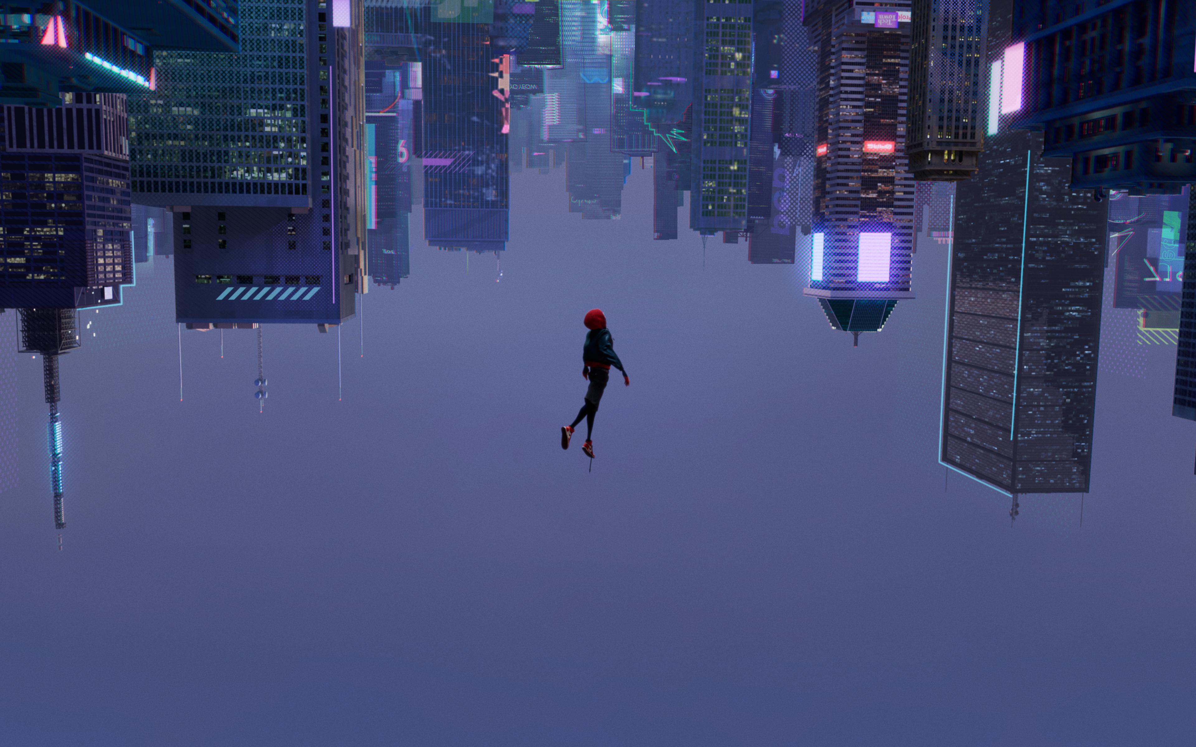 Spiderman Into The Spider Verse 2018, HD 4K Wallpaper