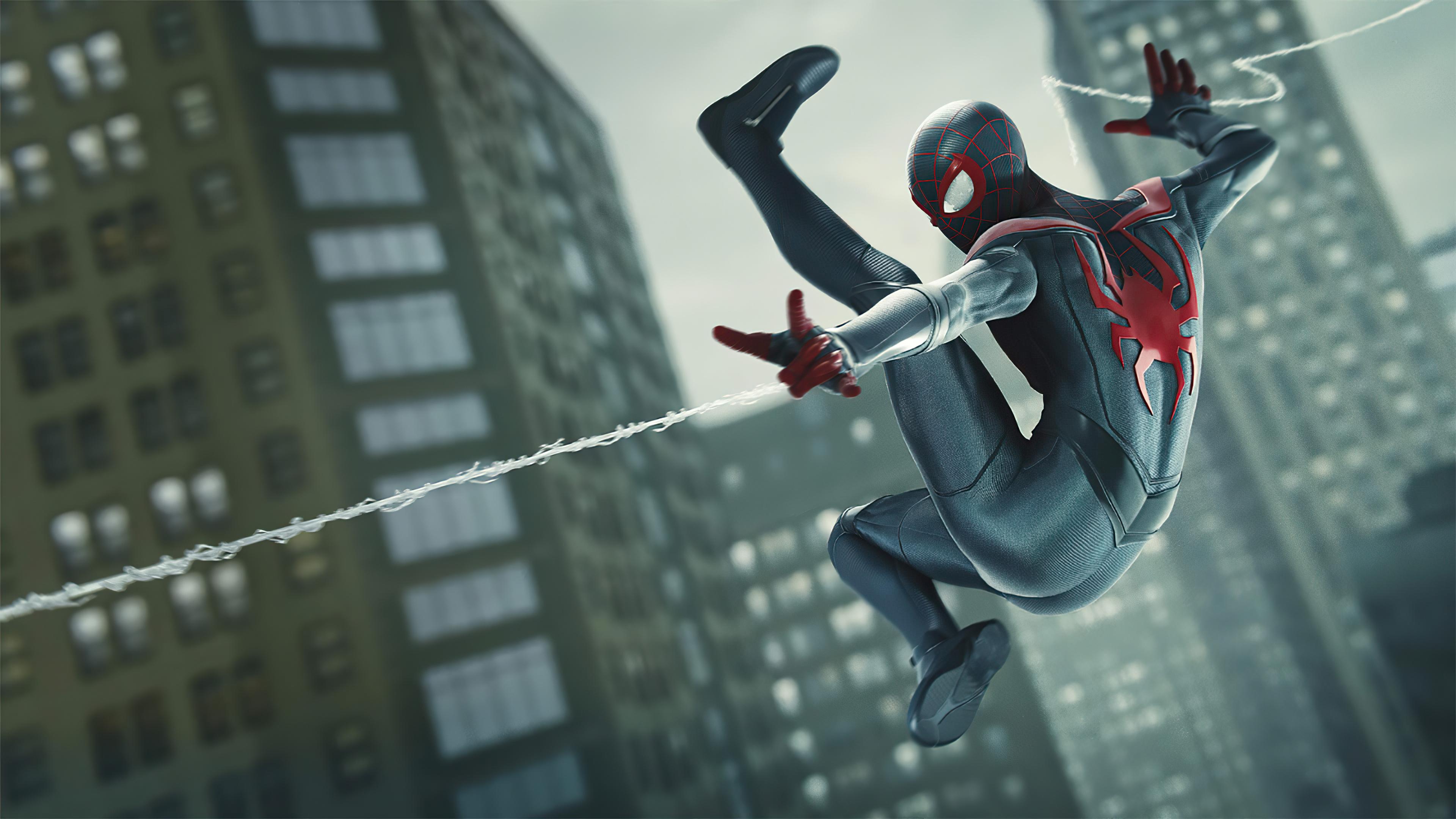 Spiderman Miles Morales Web Shooter Wallpaper, HD Games 4K ...
