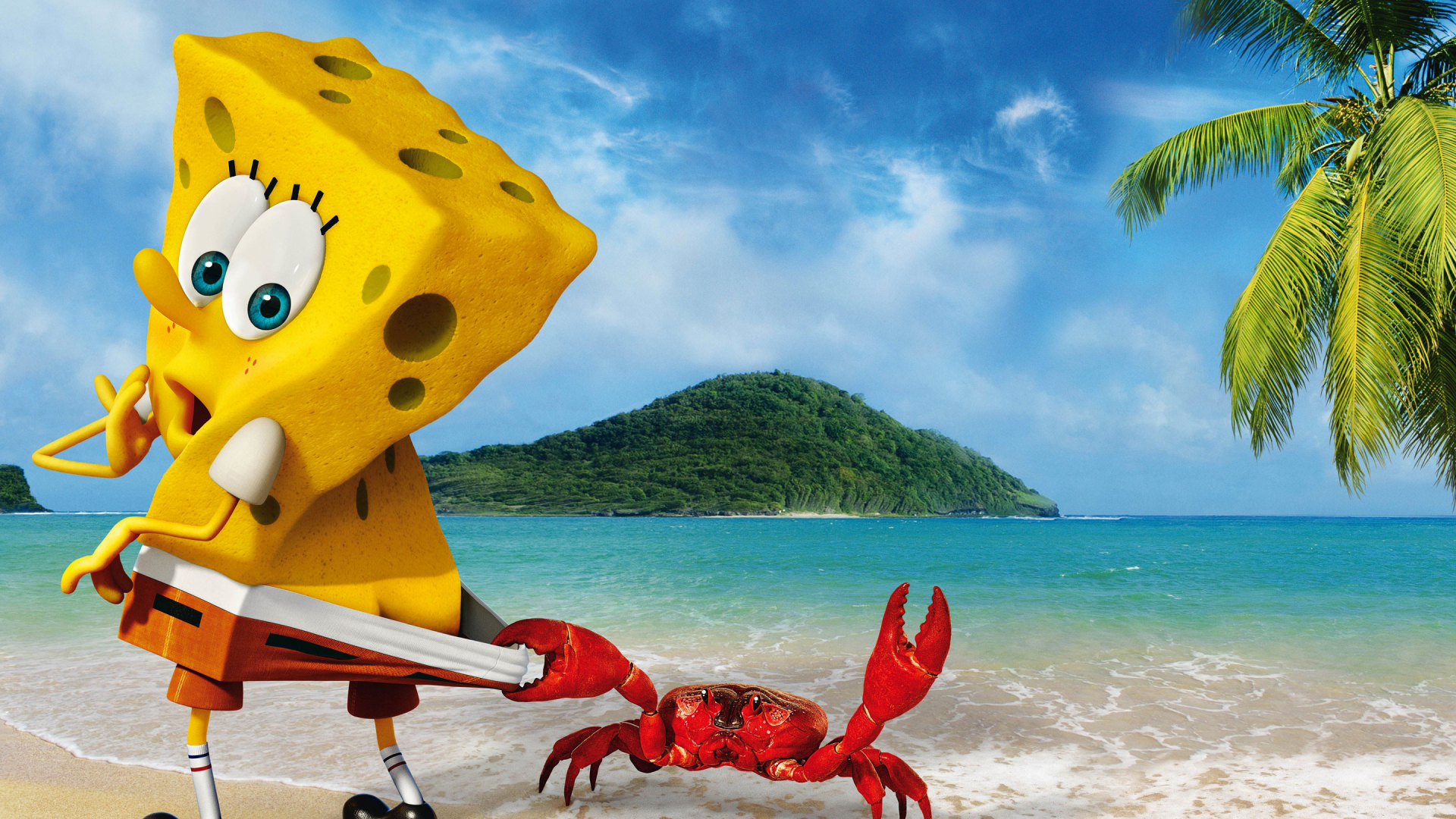 1920x1080 Spongebob Crab Funny 1080p Laptop Full Hd Wallpaper Hd Cartoon 4k Wallpapers Images Photos And Background