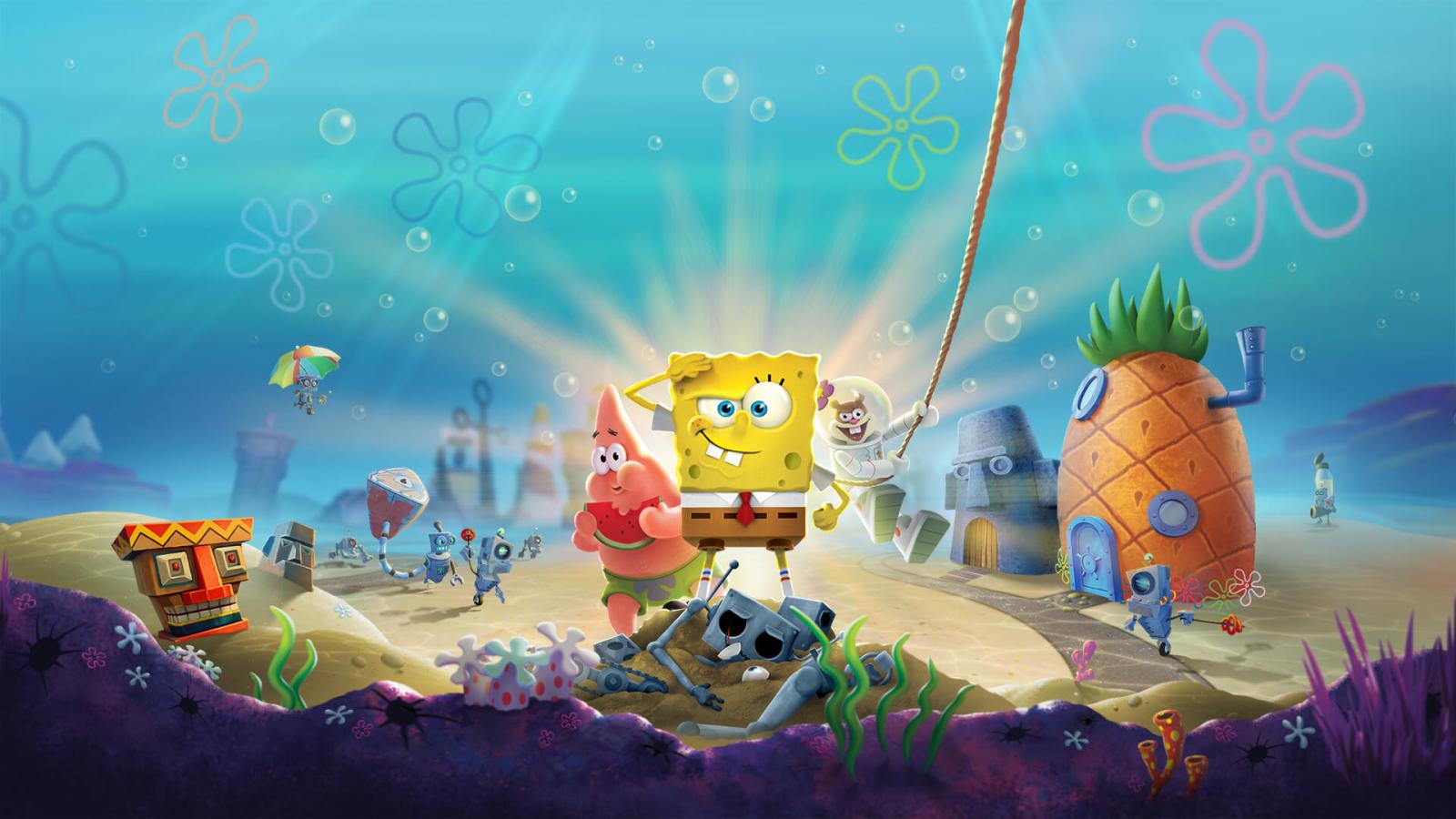 1600x900 SpongeBob SquarePants Battle for Bikini Bottom ...