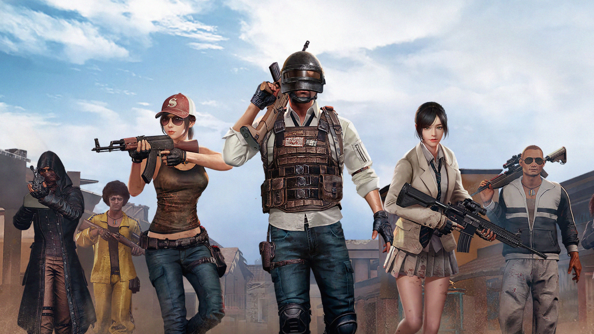 1920x1080 Squad Of Pubg 1080p Laptop Full Hd Wallpaper Hd Games 4k Wallpapers Images Photos And Background