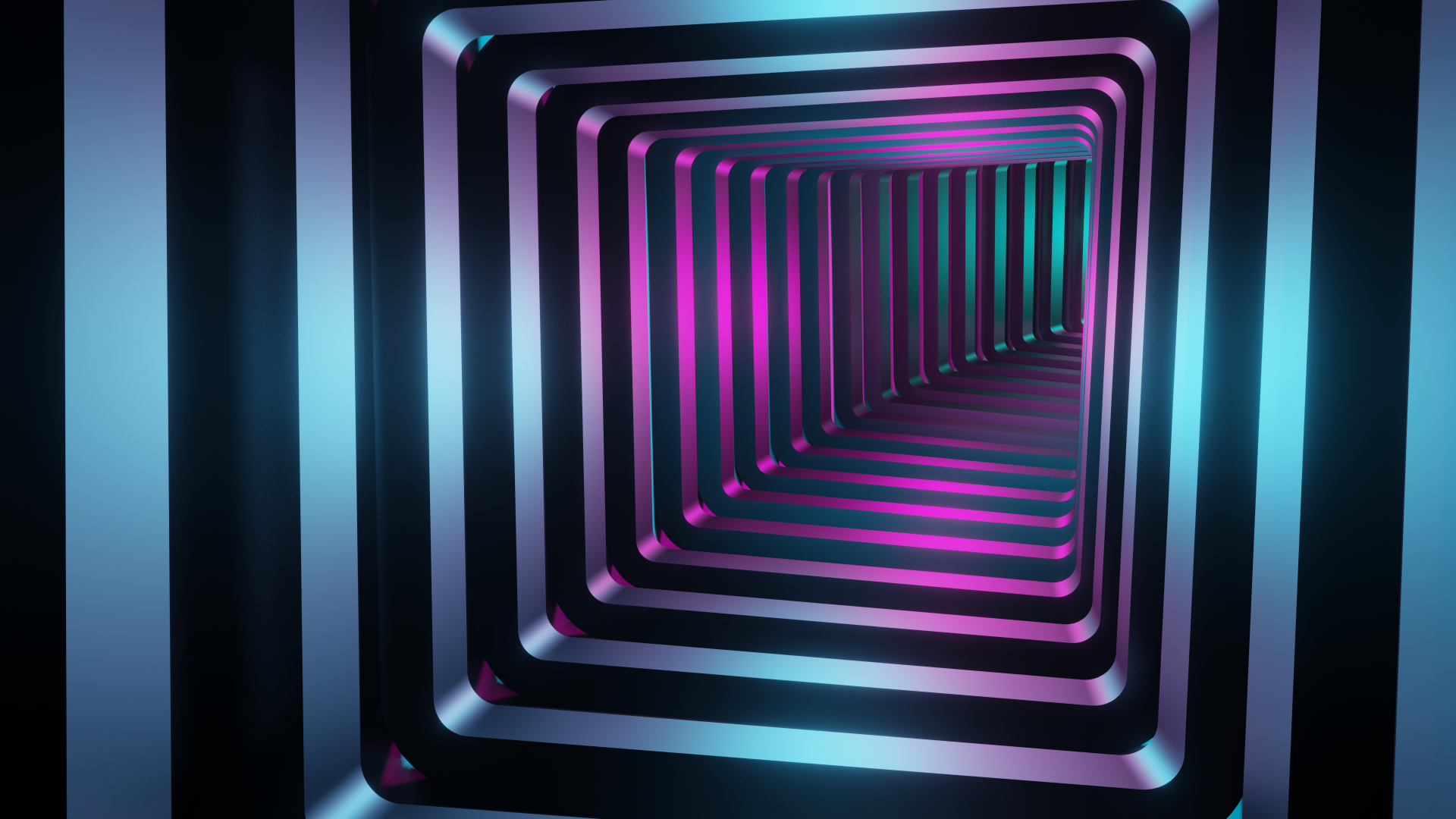 1920x1080 Square 3d Tunnel 1080p Laptop Full Hd Wallpaper Hd Abstract 4k Wallpapers Images Photos And Background Wallpapers Den
