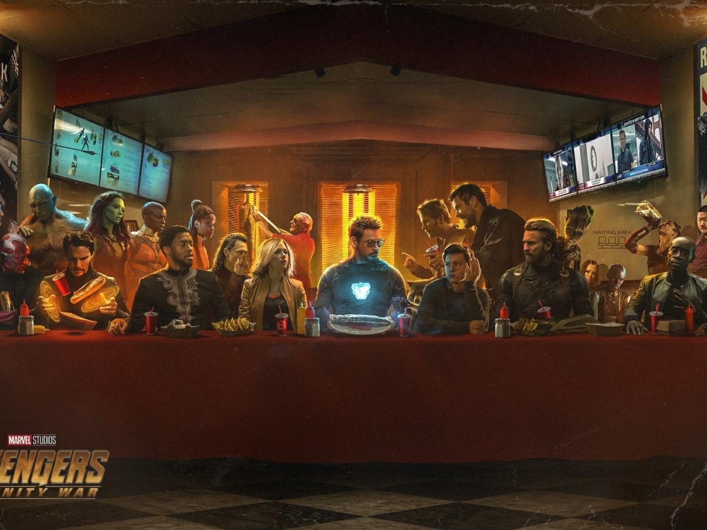 Shawarma Iron Man