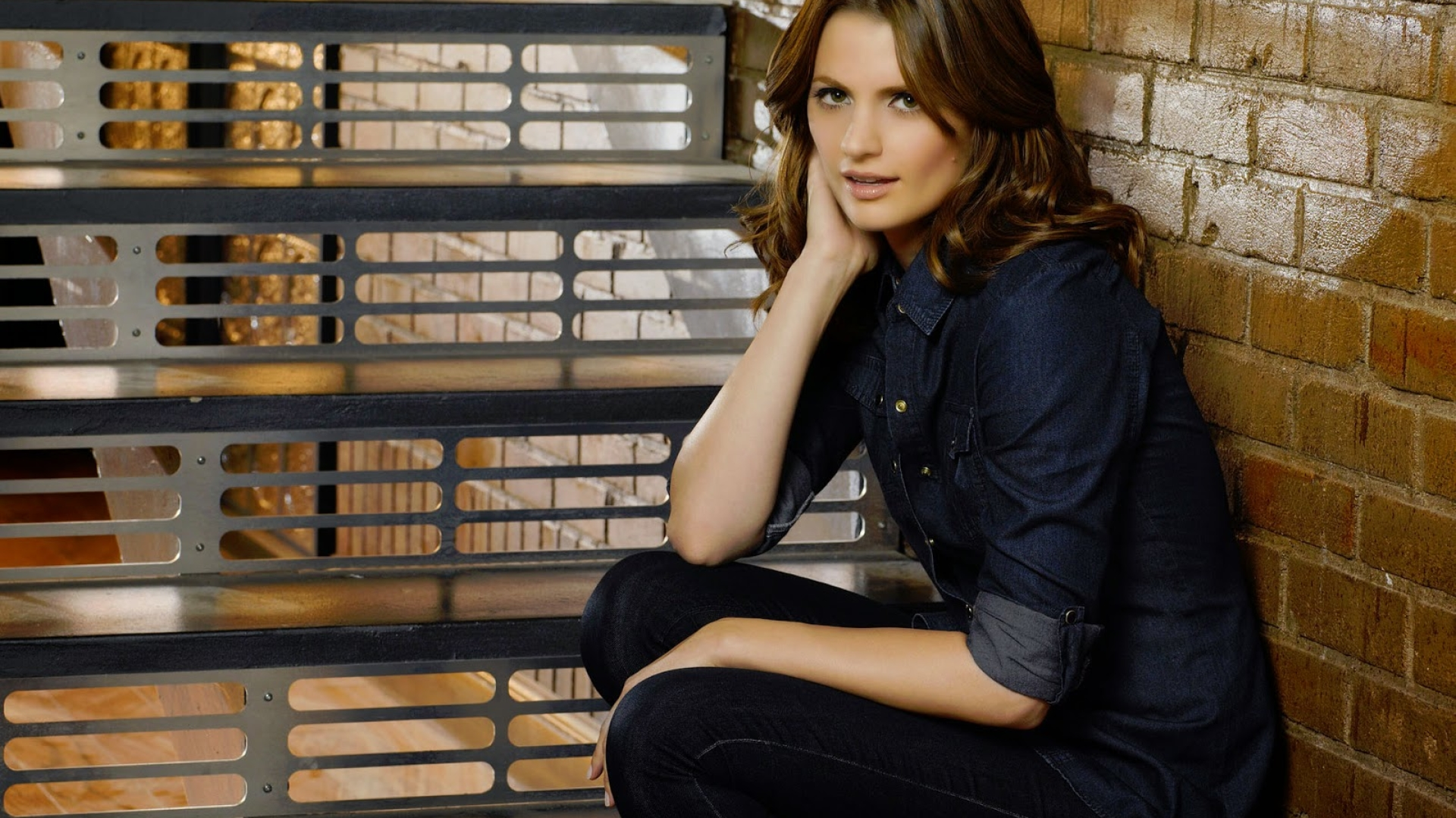 1920x1080 Stana Katic Photo Shoot 1080p Laptop Full Hd Wallpaper Hd Celebrities 4k Wallpapers Images Photos And Background