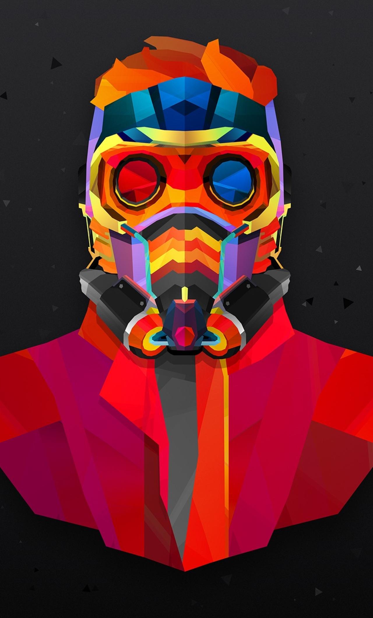 Star Lord Colorful, Full HD 2K Wallpaper