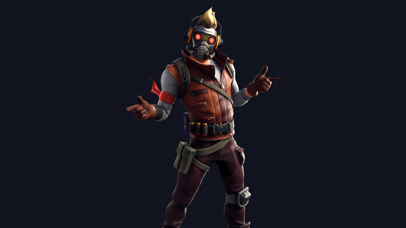 1366x768 Star Lord Outfit Skin Fortnite Avengers 1366x768