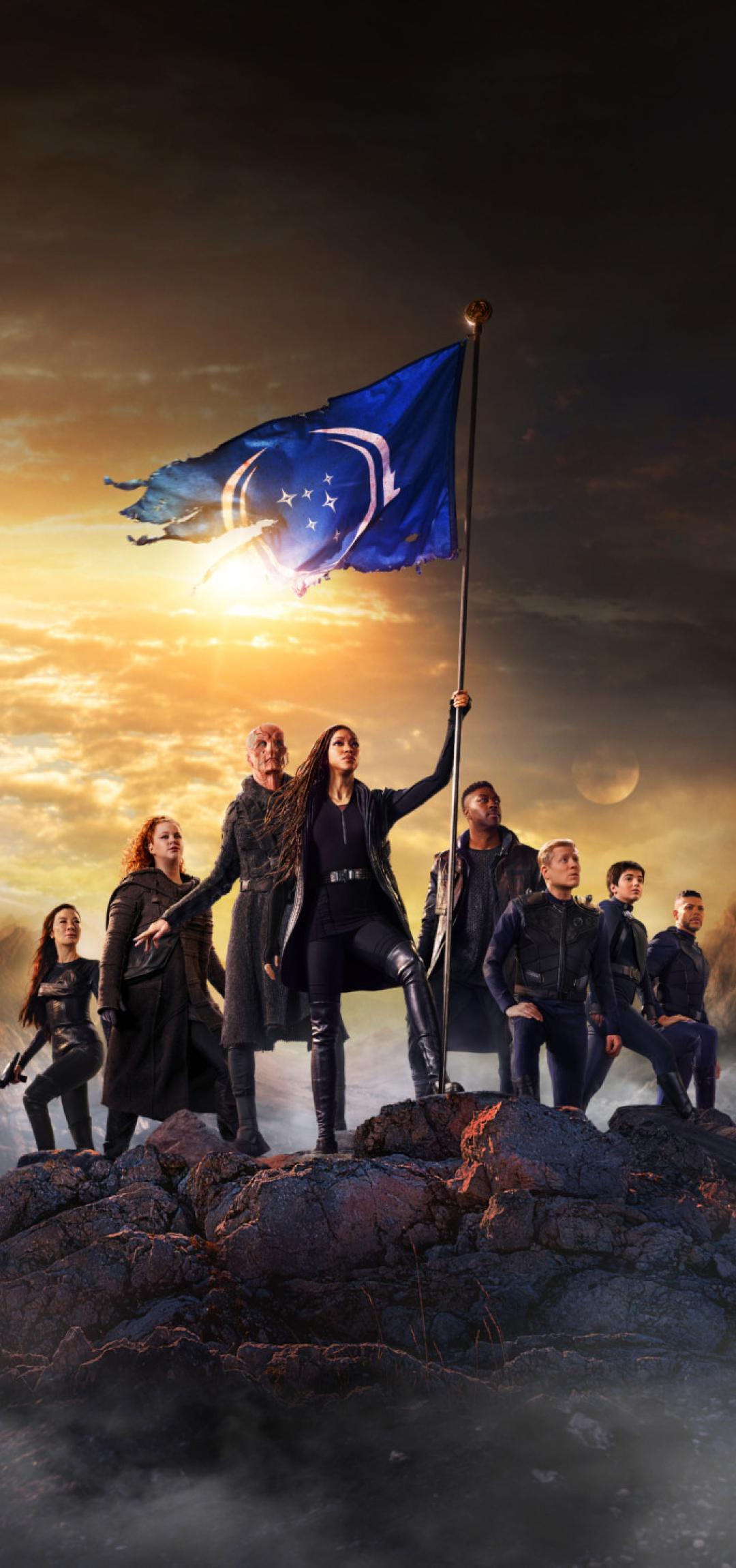 1080x2300 Star Trek Discovery Season 3 1080x2300 ...