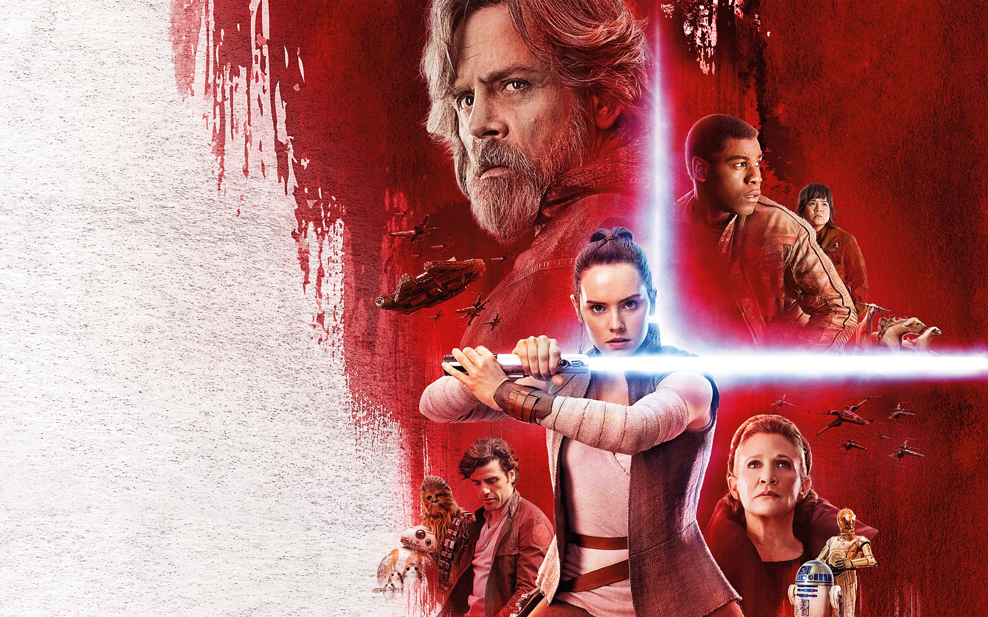 Star Wars 8 Poster Wallpaper Hd Movies 4k Wallpapers Images Photos And Background