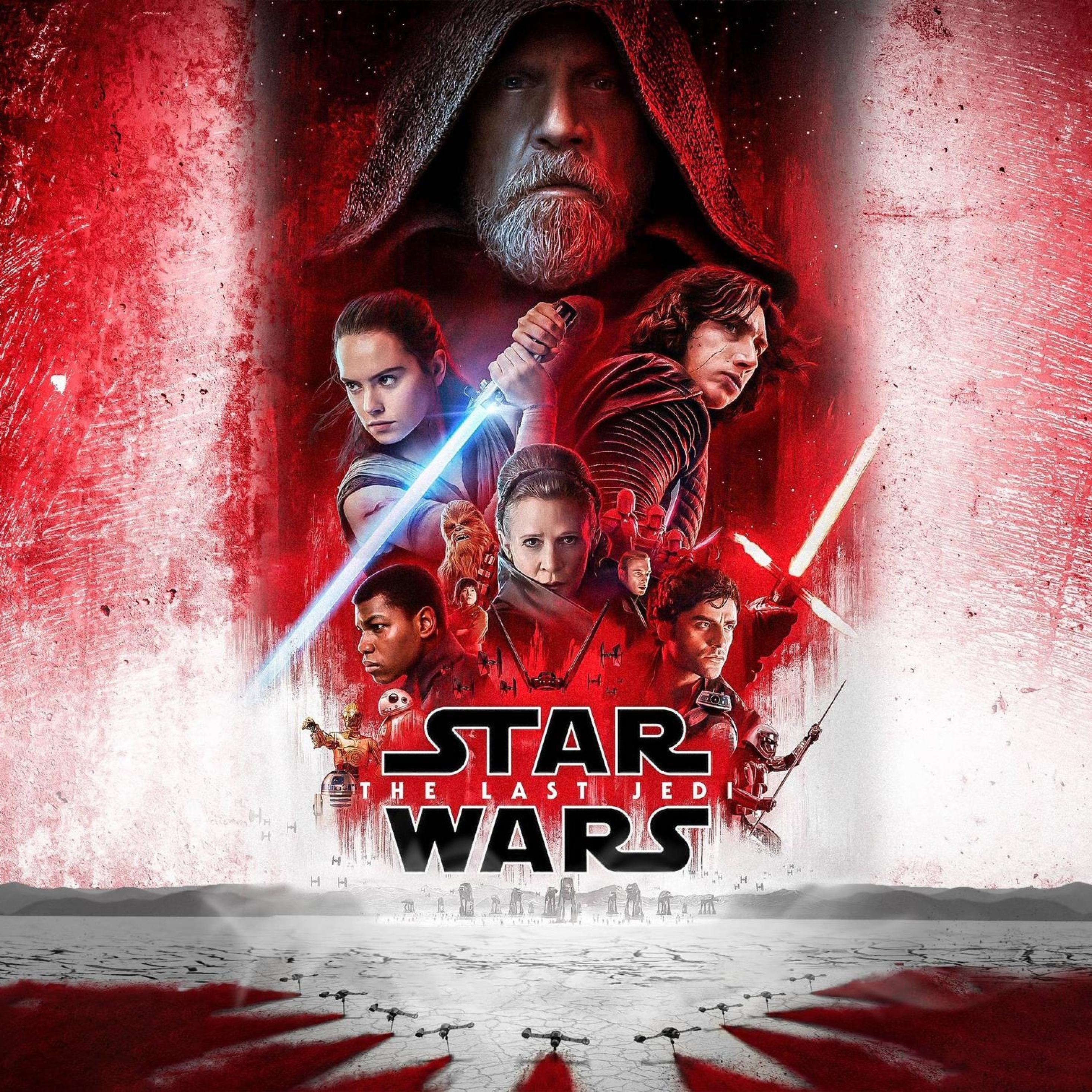 Download star wars 8 the last jedi 2017 2248x2248 - Star wars the last jedi wallpaper ...