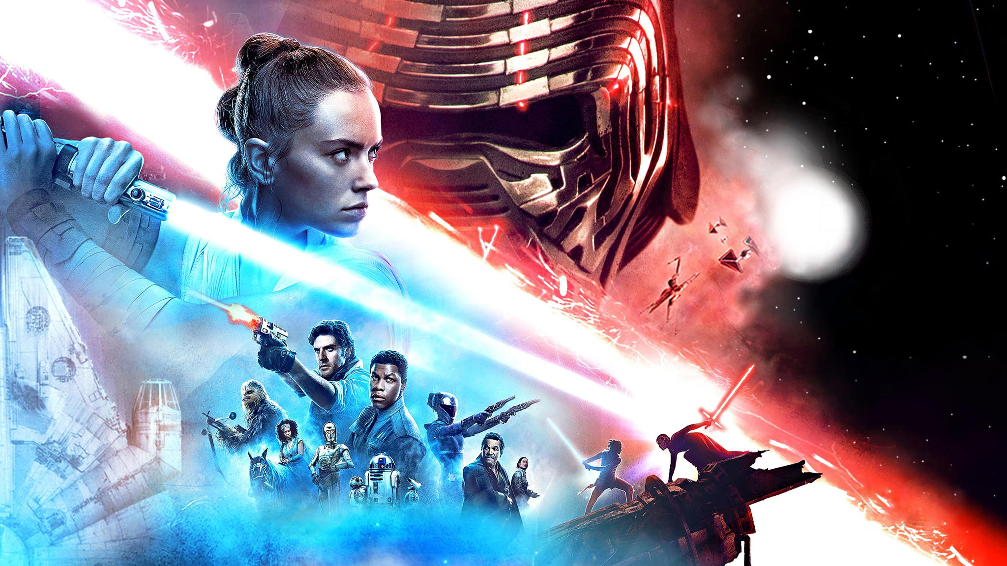 2048x1152 Star Wars 9 Banner 4k 2048x1152 Resolution