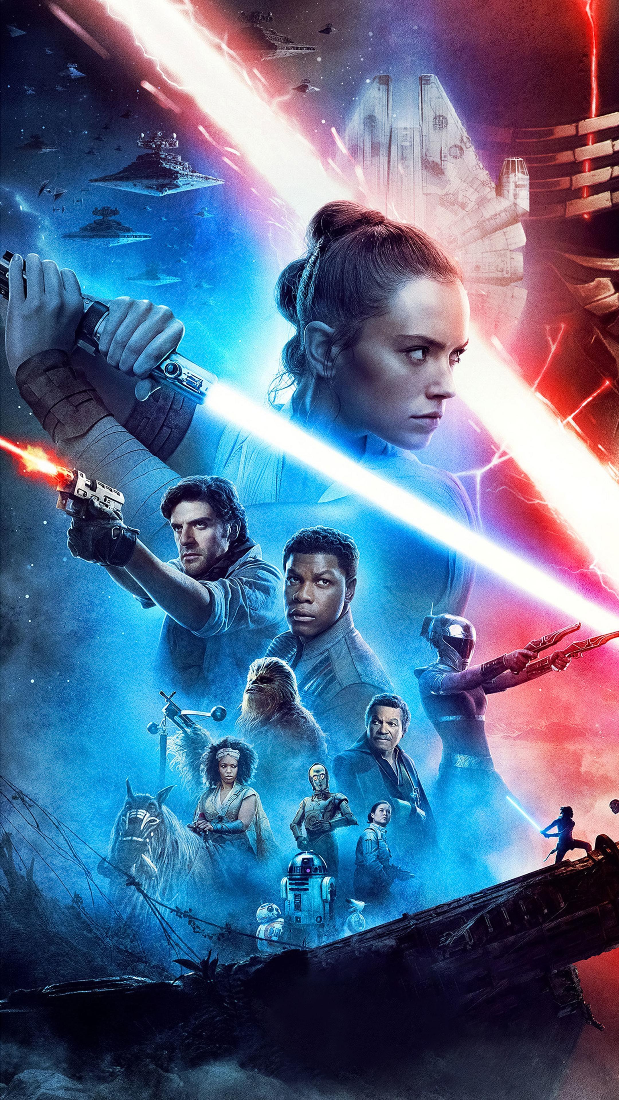 2160x3840 Star Wars 9 Poster Sony Xperia X,XZ,Z5 Premium ...