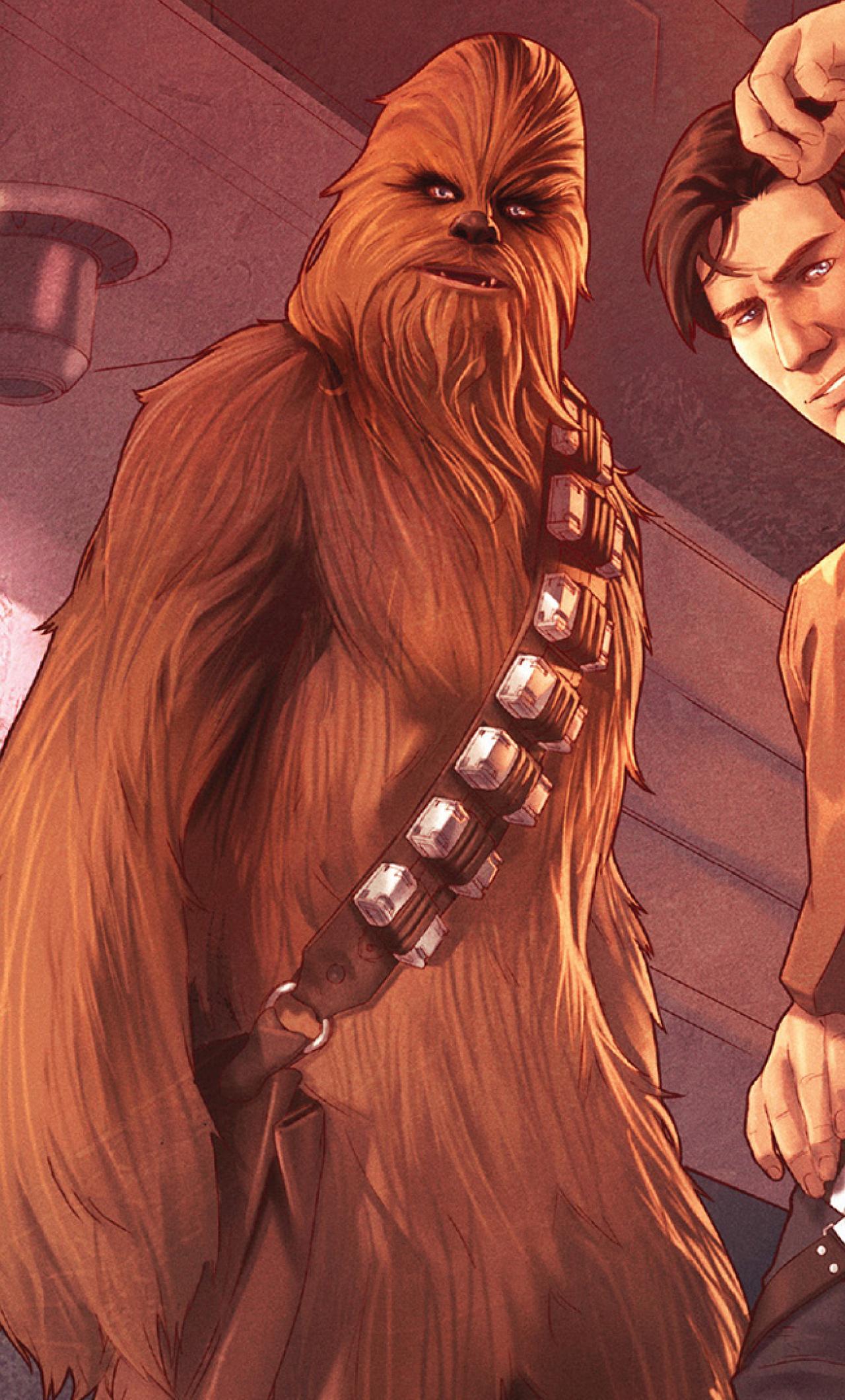 Star wars han solo and chewbacca full hd wallpaper - Han solo wallpaper ...