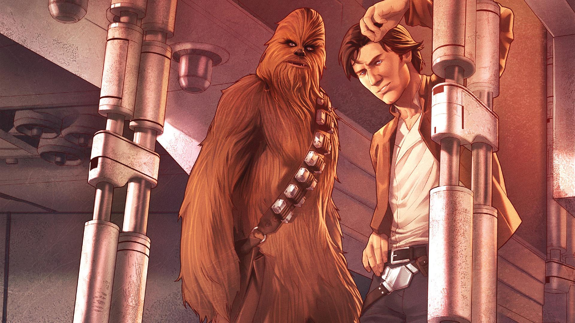 Star Wars Han Solo And Chewbacca Wallpaper Hd Superheroes 4k