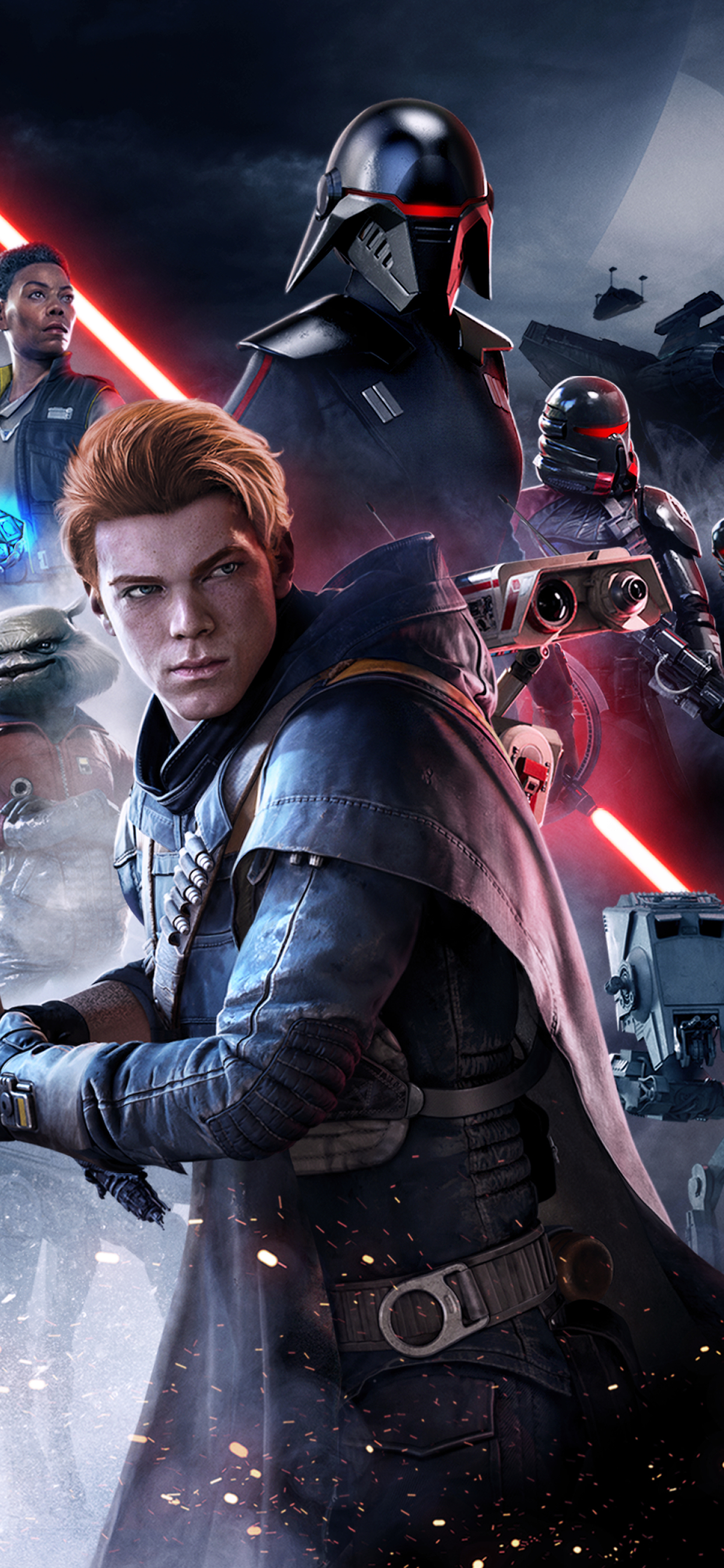 1242x2688 Star Wars Jedi Fallen Order Poster 2019 Iphone ...