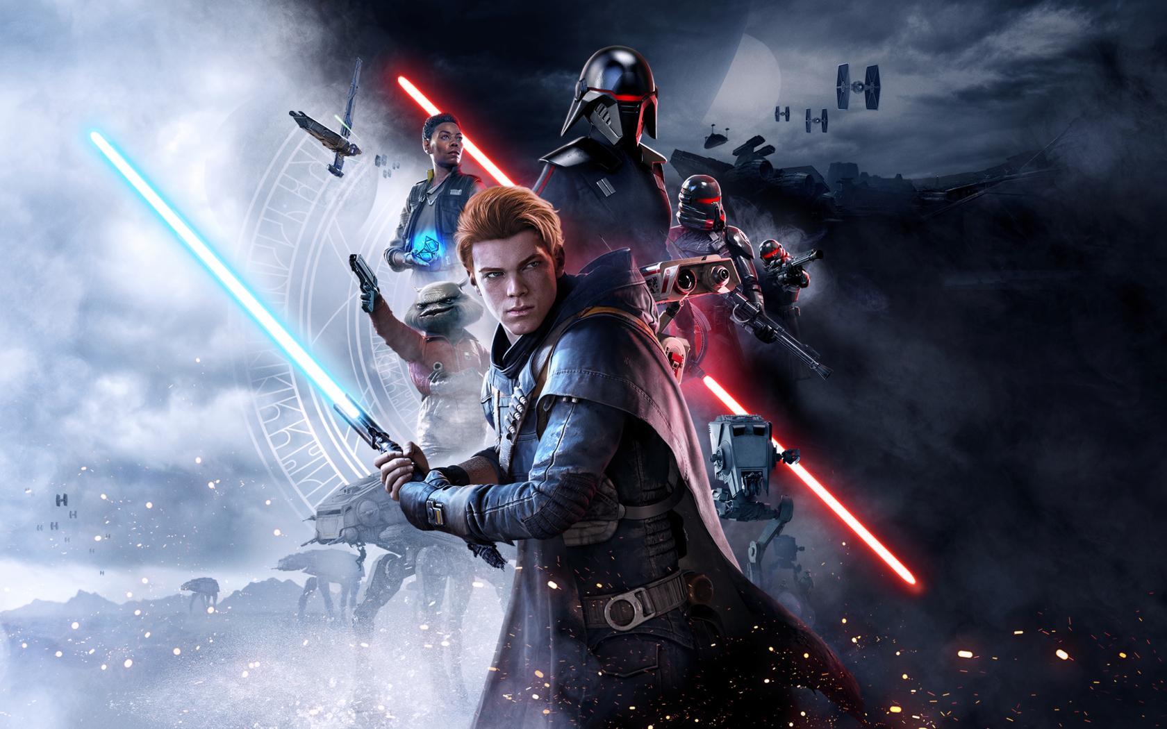 1680x1050 Star Wars Jedi Fallen Order Poster 2019 ...
