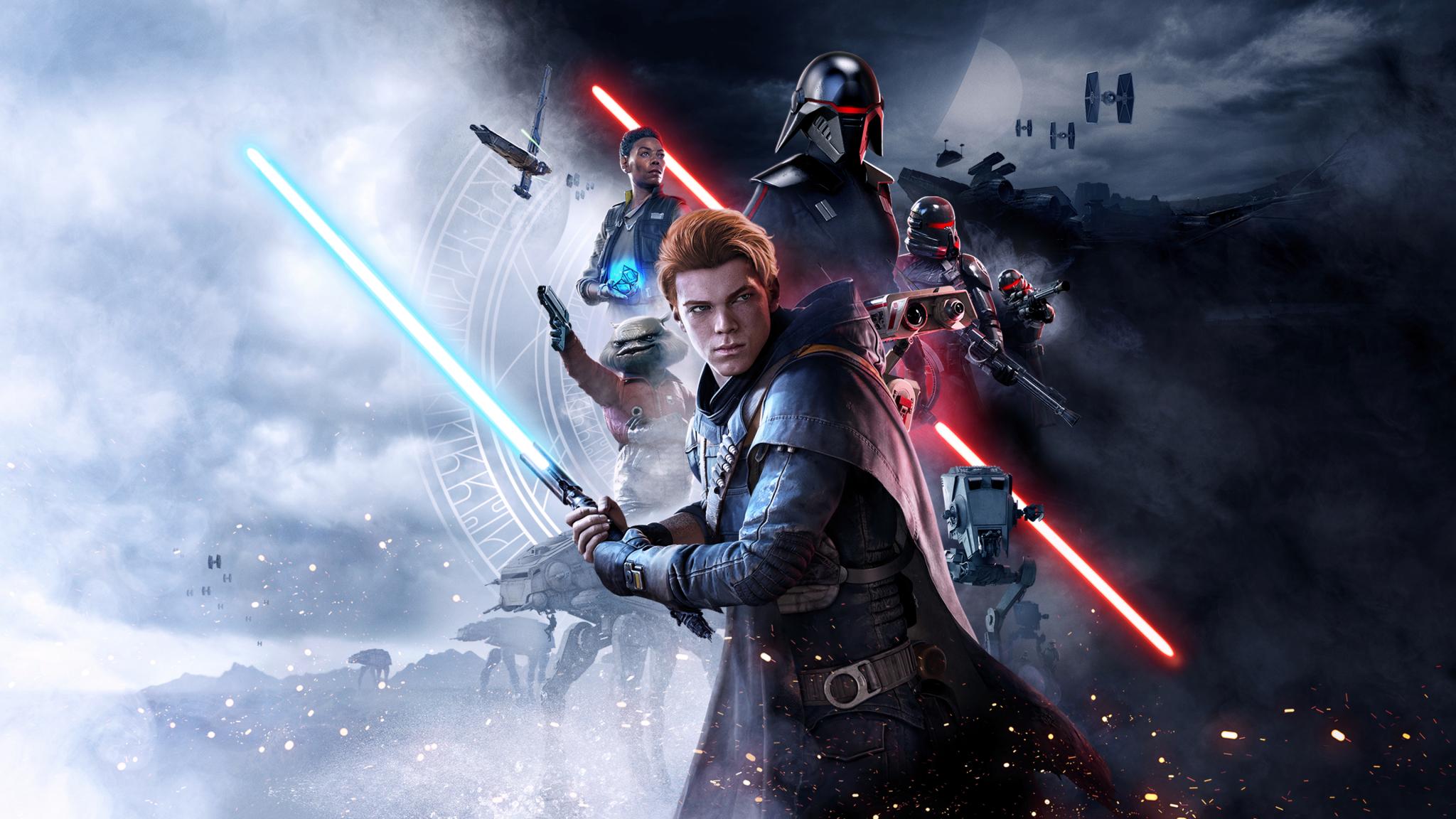 2048x1152 Star Wars Jedi Fallen Order Poster 2019 ...