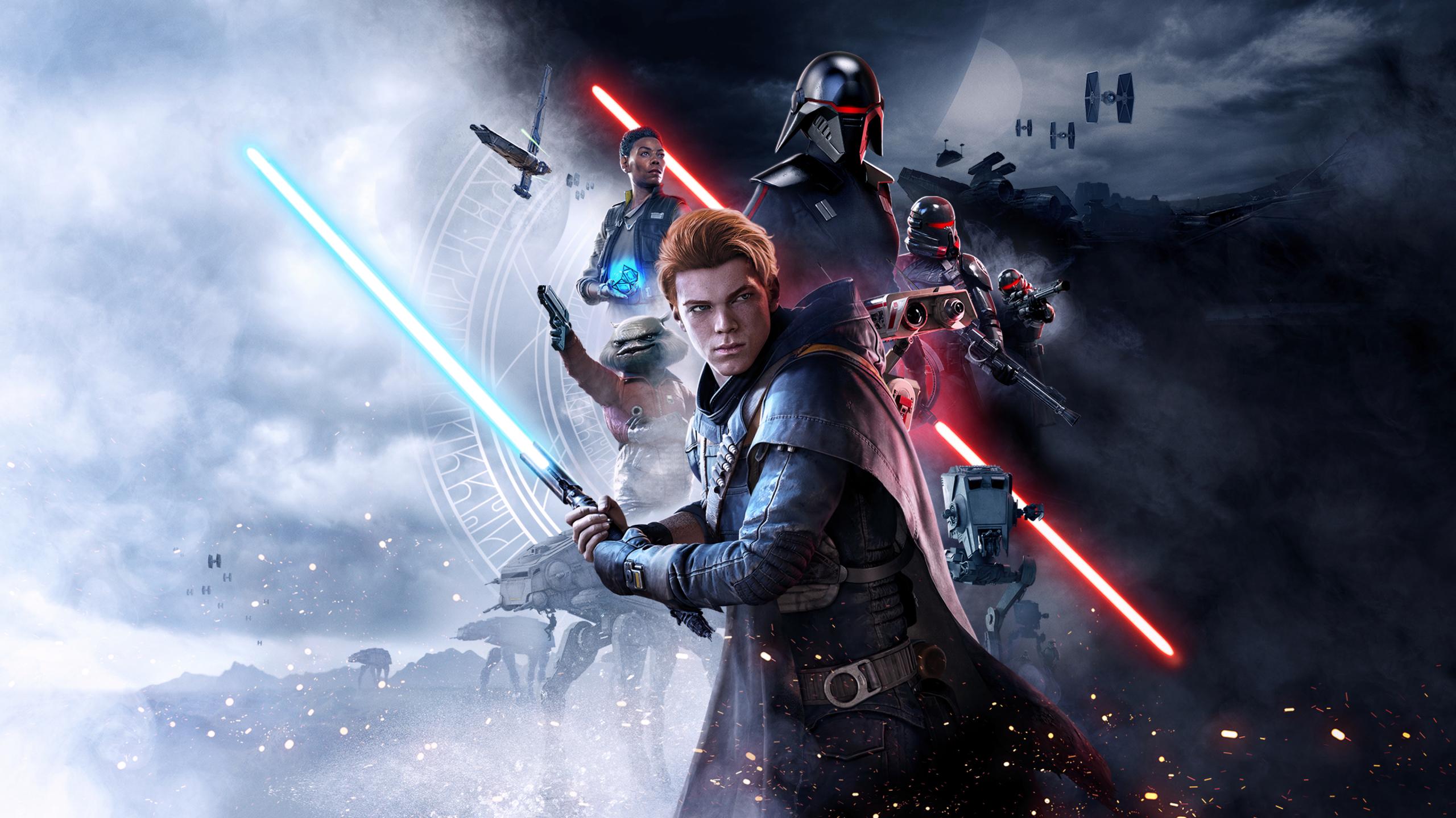 2560x1440 Star Wars Jedi Fallen Order Poster 2019 1440p Resolution