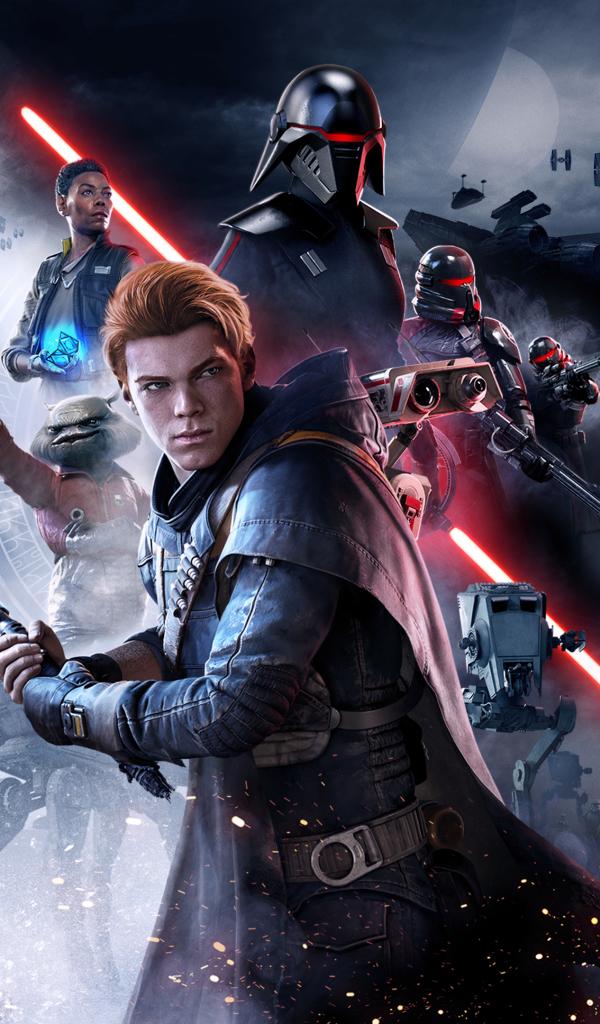 600x1024 Star Wars Jedi Fallen Order Poster 2019 600x1024 ...