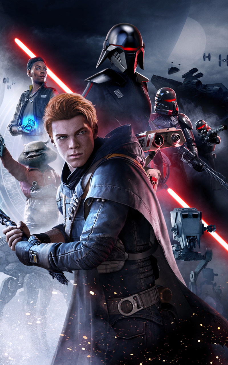 800x1280 Star Wars Jedi Fallen Order Poster 2019 Nexus 7 Samsung Galaxy Tab 10 Note Android Tablets Wallpaper Hd Games 4k Wallpapers Images Photos And Background